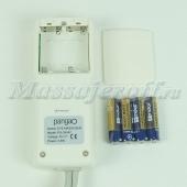Массажер для глаз (массажные очки) PG-2404C1 (вибрация, давление, нагрев, LCD-дисплей)