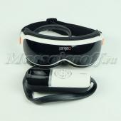 Массажер для глаз (массажные очки) PG-2404G (вибрация, давление, нагрев, LED-дисплей, МР3-плеер, USB-вход)